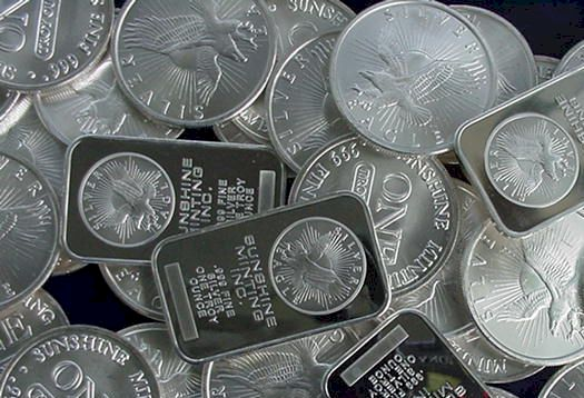 Sunshine silver bars and silver rounds - Sunshinesilver.com